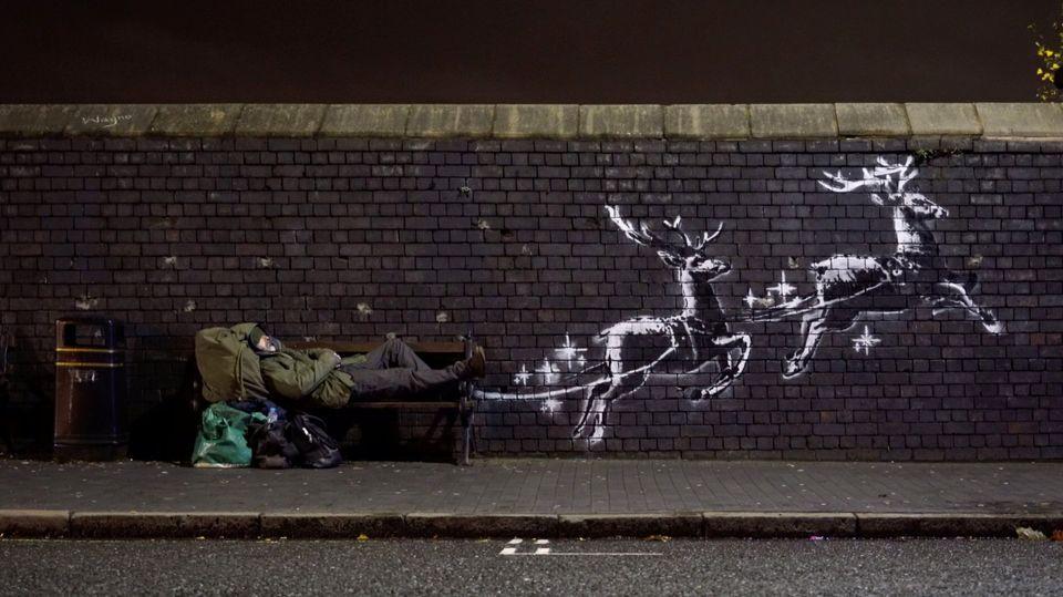 Mural de Banksy en Birmingham, Reino