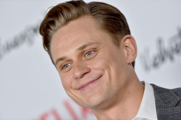 HOLLYWOOD, CALIFORNIA - JANUARY 28: Billy Magnussen arrives at the Los Angeles premiere screening of...