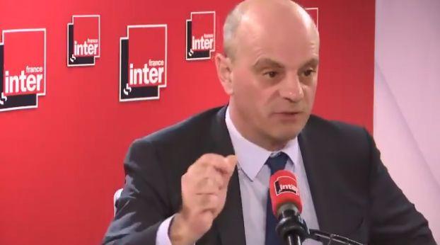 Jean-Michel Blanquer, ministre de l'Education nationale, sur France Inter, le 10 décembre