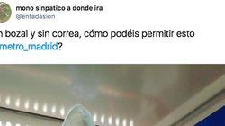 Cachondeo con lo que se encontró un usuario en el Metro de Madrid: esta es su