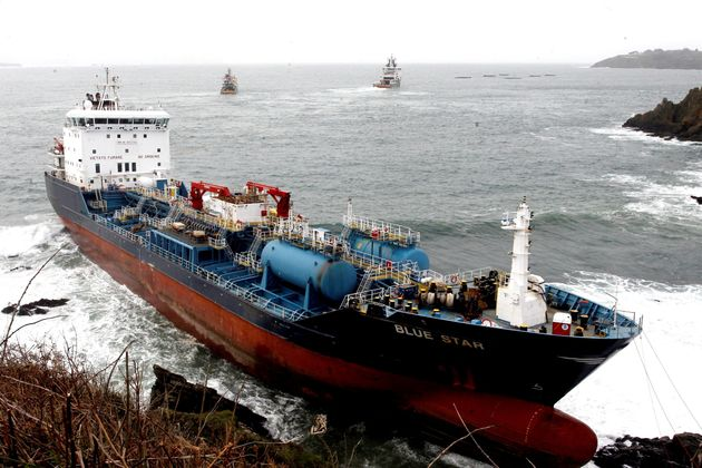 El buque quimiquero