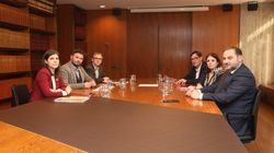 Termina la reunión entre PSOE y ERC en Barcelona para abordar la