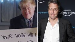 Hugh Grant Gives Withering Response To Boris Johnson's Love Actually-Inspired Campaign