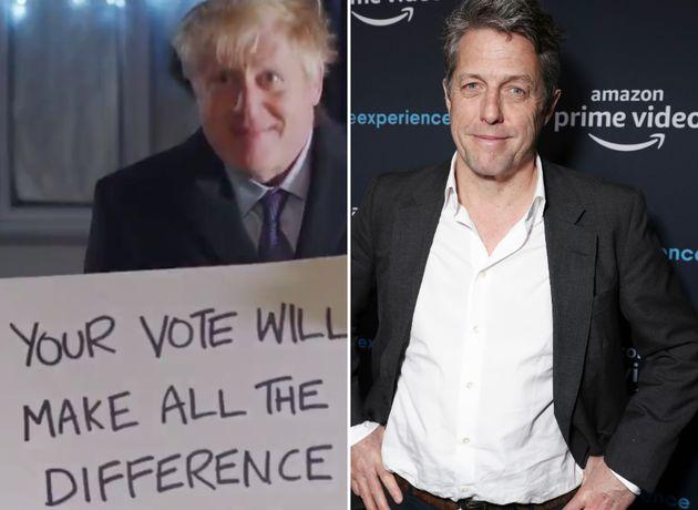Boris Johnson and Hugh