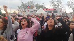 La policía turca dispersa una marcha de mujeres que cantaba 'Un violador en tu