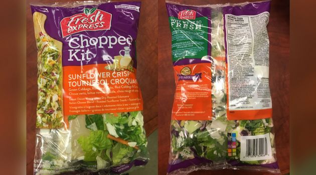 Fresh Express brand Sunflower Crisp Chopped Kit has been recalled in Canada after it was sold in Ontario,...