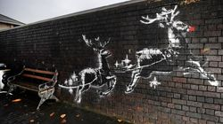 Banksy Makes Poignant Statement About Homelessness With New Reindeer Street