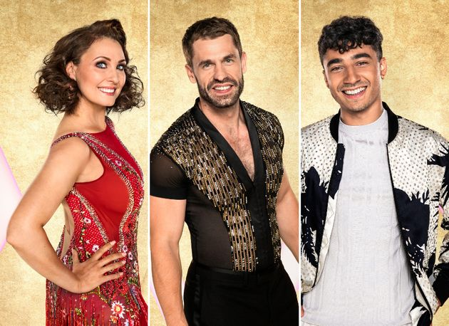 Strictly Come Dancing's final three for this year's series