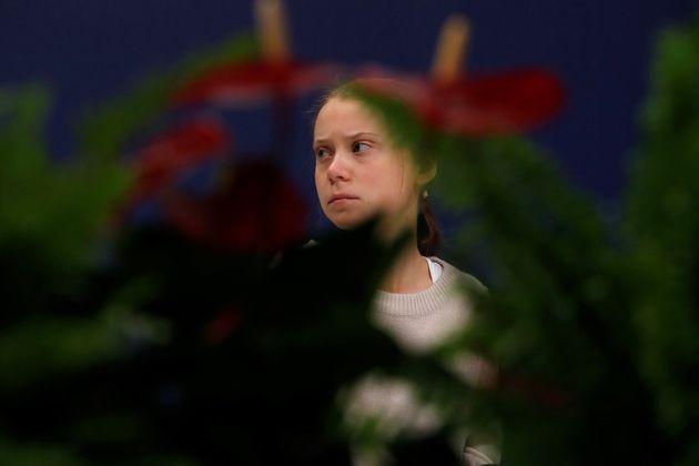 La joven activista medioambiental sueca Greta
