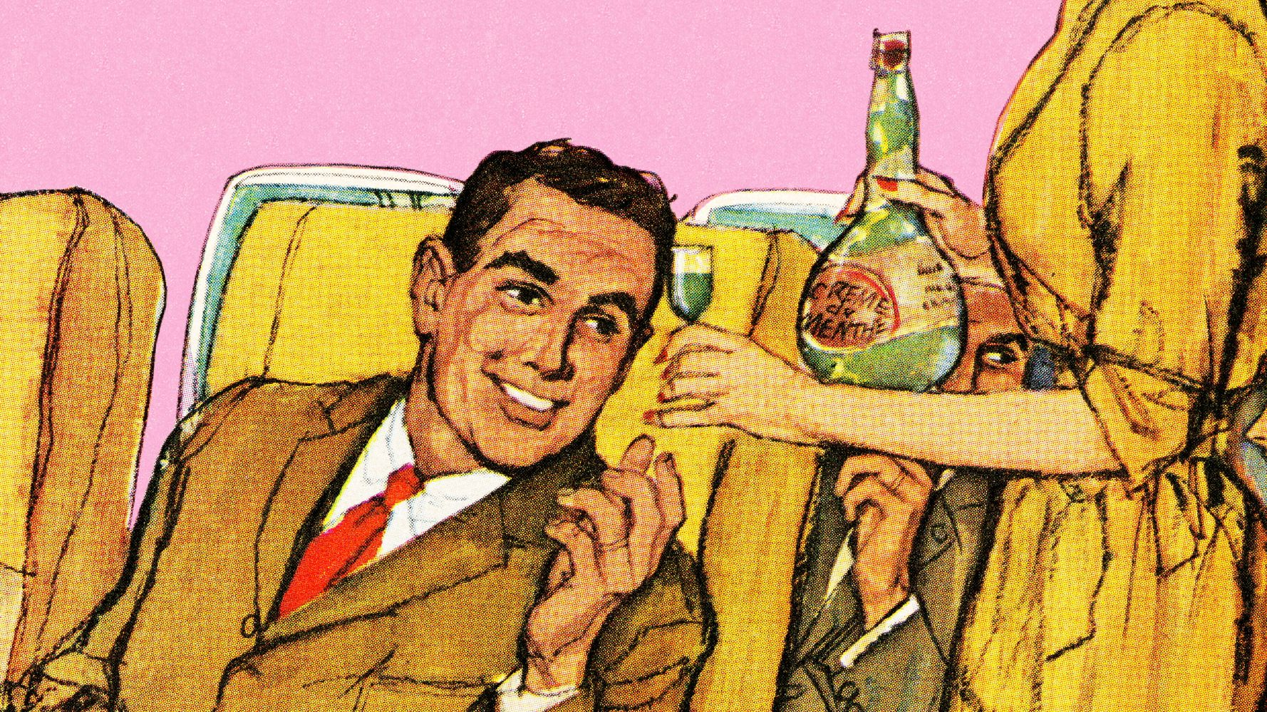 Here's Why Drinking Alcohol On A Flight Makes You Feel More Drunk