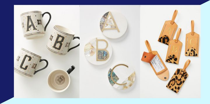 Get personal with these monogram gifts that your family and friends will love.
