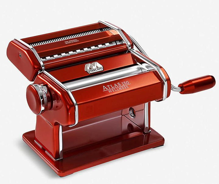 "<a href=""https://amzn.to/2QinnpP"" target=""_blank"" rel=""noopener noreferrer"">Marcato Atlas 150 pasta-maker, Selfridges, </a>&pound;75"