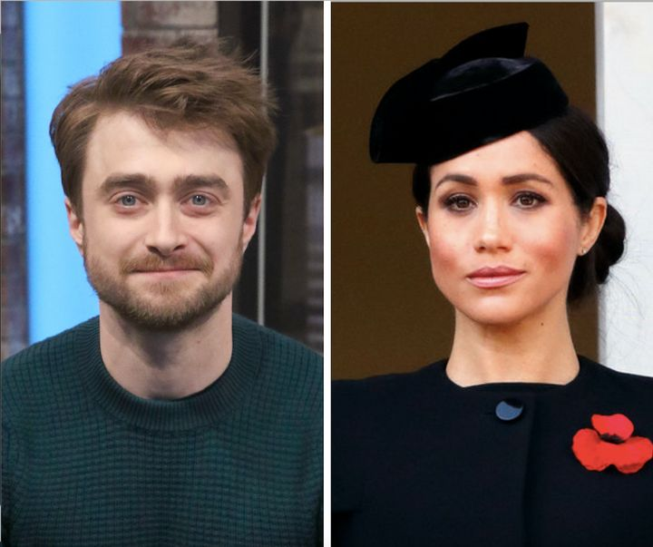"""The """"Harry Potter"""" star expressed empathy for the former """"Suits"""" actress in a new interview."""