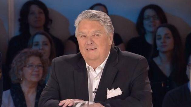 Jean Pagé lors de son passage sur le plateau des «Enfants de la télé»