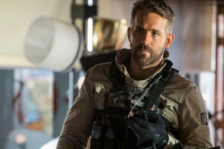 "Ryan Reynolds in ""6 Underground."""