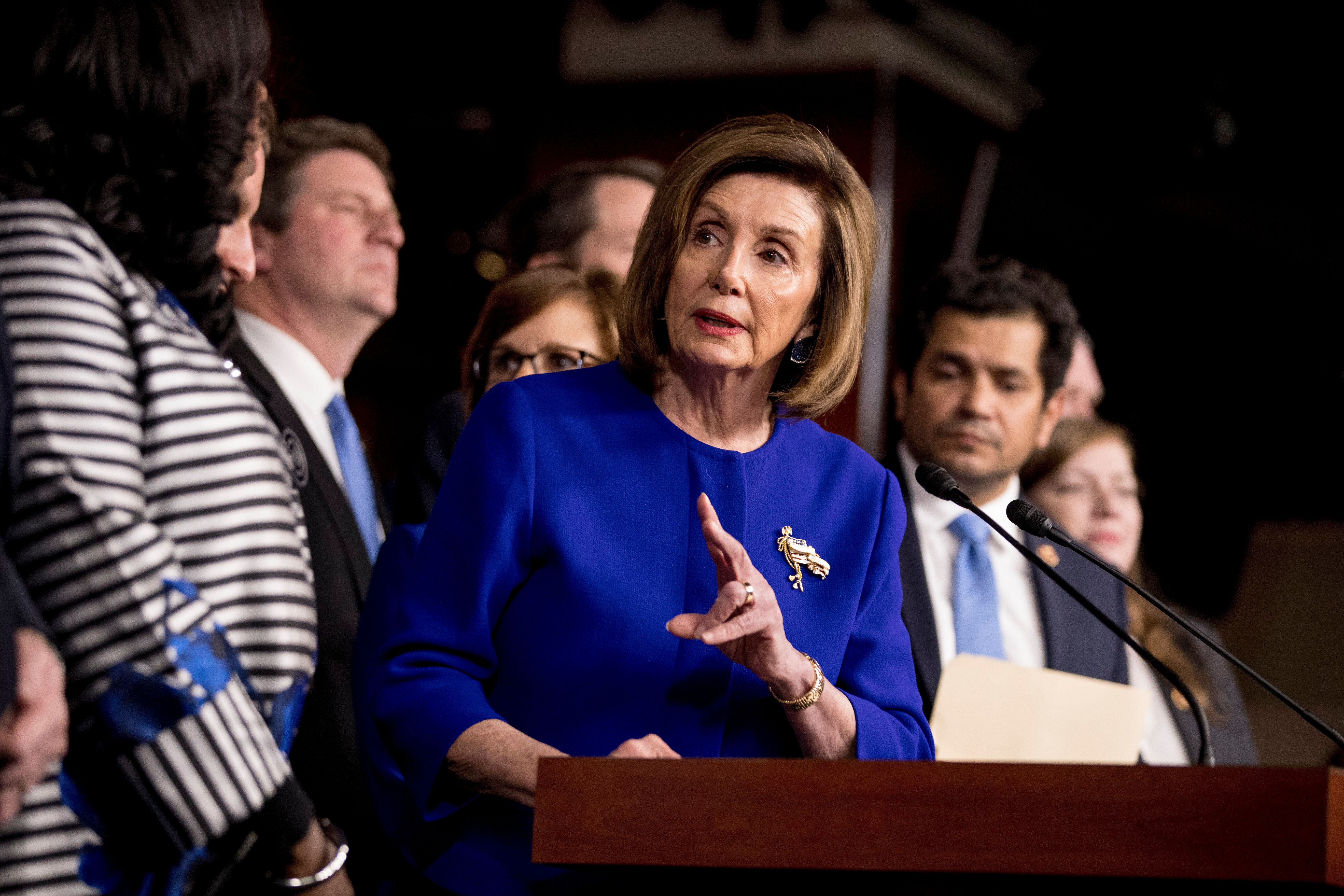 Nancy Pelosi Announces Agreement On New North American Trade Pact