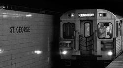 Moron Hanging Off Back Of Toronto Subway Car Impressed No