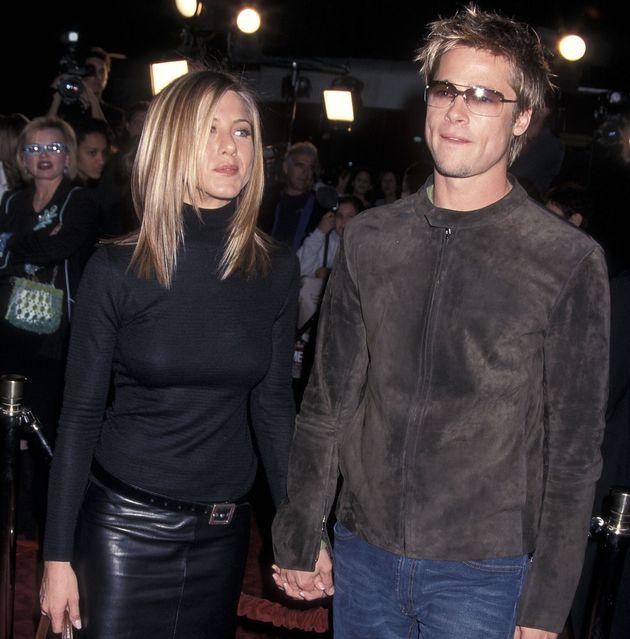 Brad Pitt e Jennifer Aniston insieme ai Golden Globe 2020
