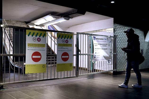 Le trafic RATP sera toujours très perturbé ce mercredi 11 décembre