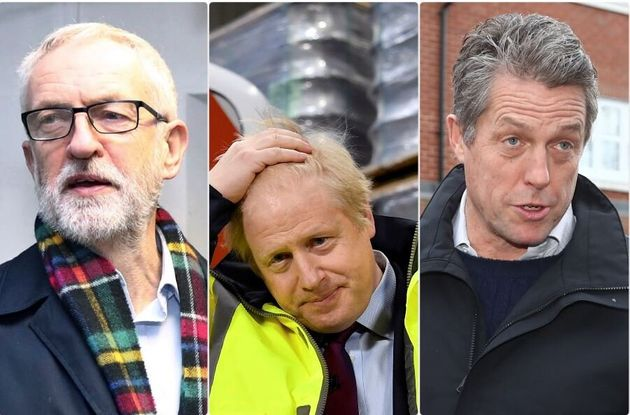 Jeremy Corbyn - Boris Johnson - Hugh