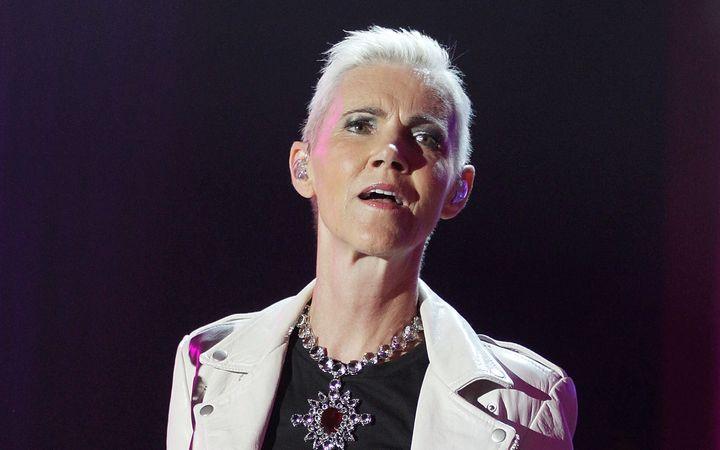 Marie Fredriksson, en un concierto de Roxette en 2012.