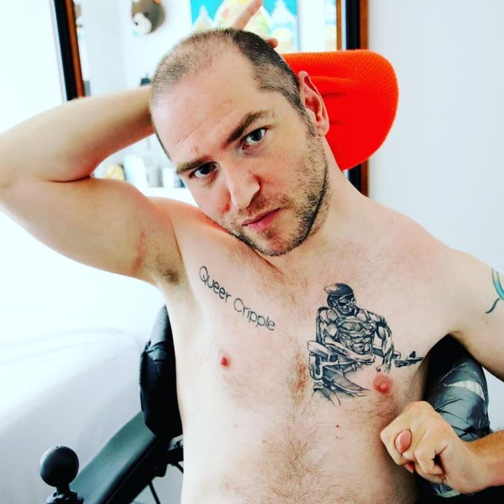 "Andrew Gurza starred in his first adult film to ""help shift a long-standing narrative that gay men with disabilities aren't sexual ― or deserving of or even interested in having hot sex."""