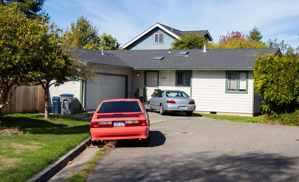 Lawson was attending a party at this house in Arcata when he was stabbed to death on the front lawn in 2017.