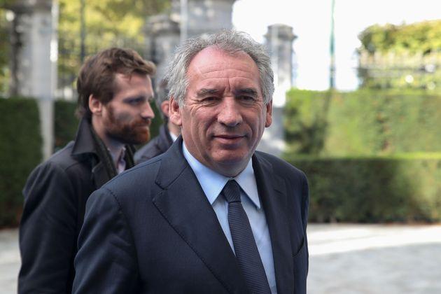 Le président du MoDem, François Bayrou, le 17 octobre