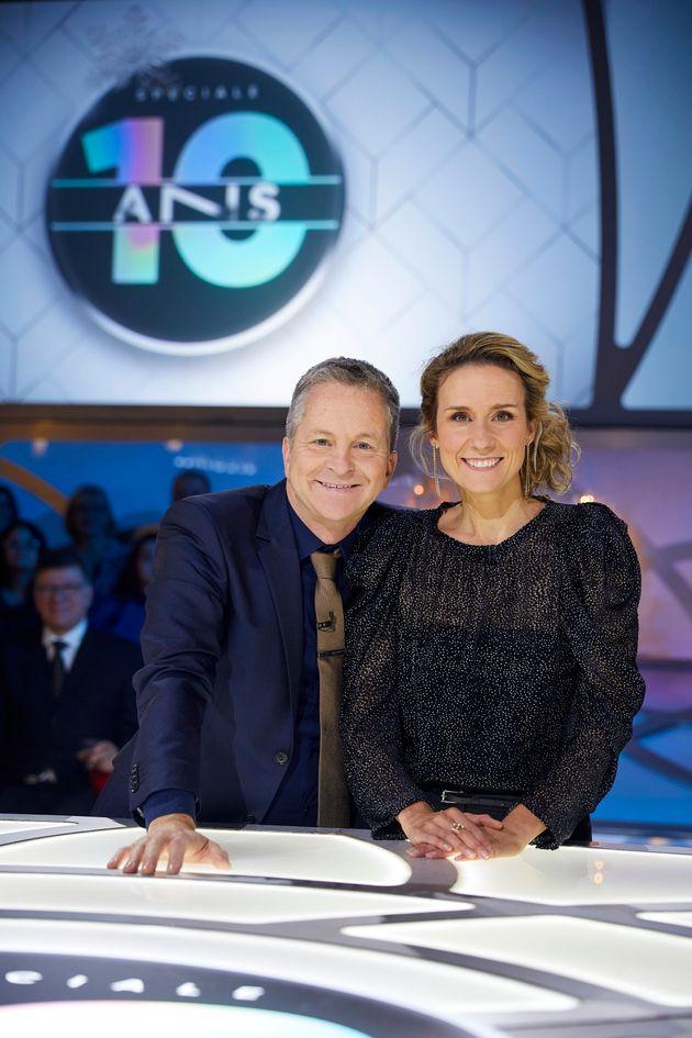 André Robitaille et Édith Cochrane animent «Les enfants de la télé» depuis six
