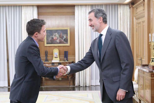 Íñigo Errejón, con Felipe