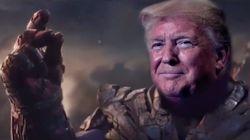 Thanos Creator Responds To 'Pompous Fool' Trump Using Marvel Villain