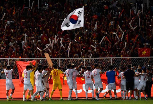 박항서의 베트남이 동남아시아(SEA) 게임에서 60년 만에