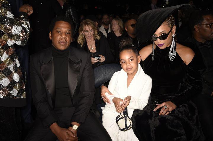ジェイ・Z(Jay-Z)とブルー・アイビー、ビヨンセ