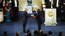 「リチウムイオン電池」吉野彰さん、ノーベル化学賞授賞式に参加