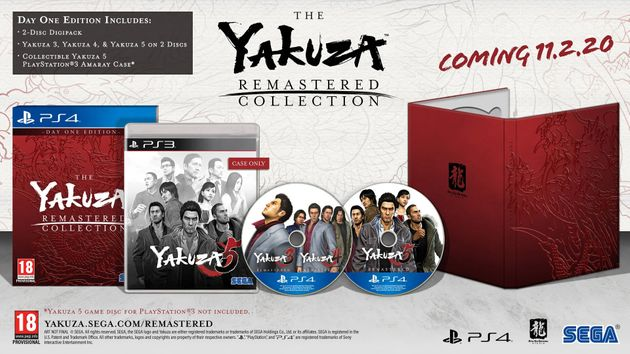 Yakuza 5 is scheduled to be released for February 11,