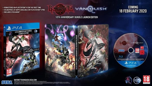 The Bayonetta and Vanquish 10th Anniversary Bundle coming on 18th February