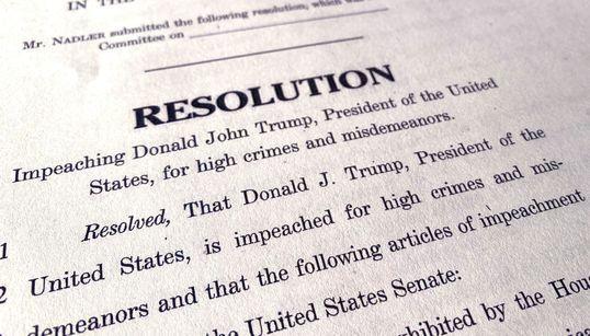트럼프 탄핵 이유? 탄핵소추안에 적시된 트럼프의 혐의들