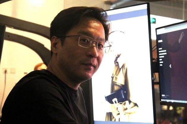 張叡さん(北京オフィスにて)