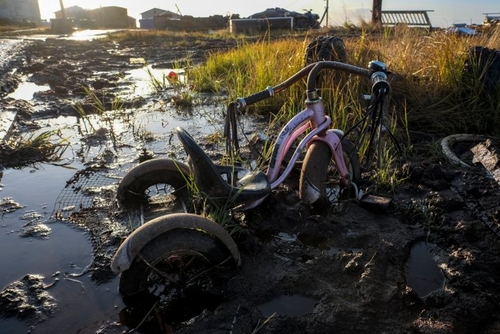 "Melting permafrost and a lost of sea ice is impacting indigenous communities in the arctic, who said in the report ""the world"