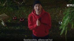 Totti incontra Spelacchio (e scrive la letterina):