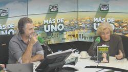 Sorpresa por lo que se escuchó en plena entrevista de Carlos Alsina con Manuela Carmena: su cara es un