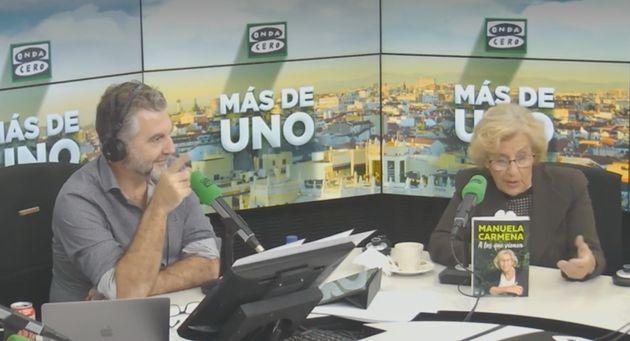 Carlos Alsina entrevista a Manuela