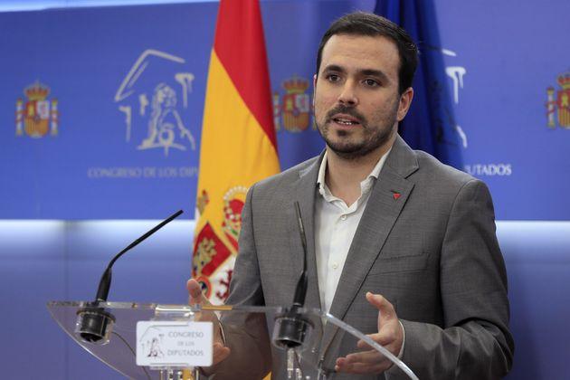 El líder de IU, Alberto
