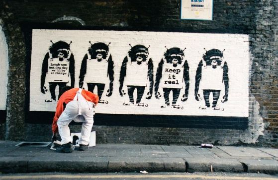 Lazarides is now planning the second volume of his Banksy-themed book, containing even more images of...