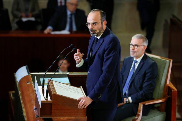 """Le Premier ministre Edouard Philippe a promis devant le Conseil économique et social que """"les..."""