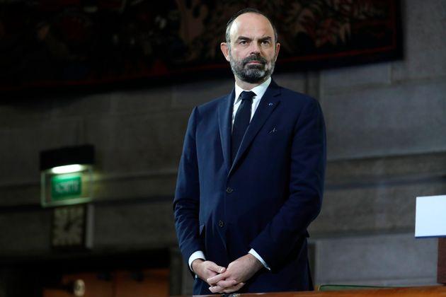 Edouard Philippe, Premier ministre, lors de son discours du 11 décembre au Conseil économique, social...