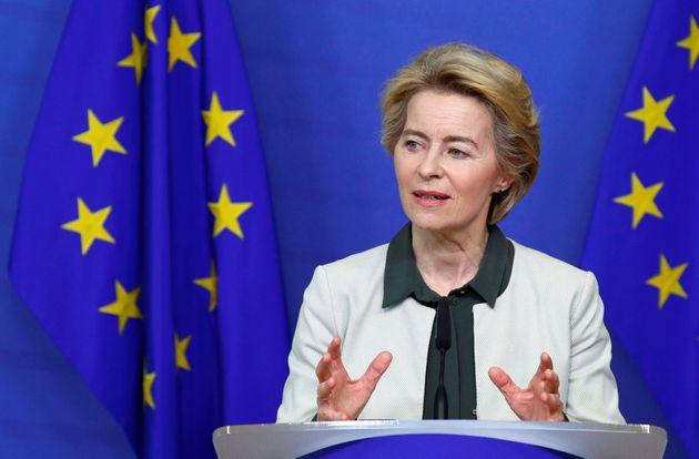La présidente de la Commission européenne Ursula von der Leyen, le 11 décembre