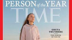 A 'pirralha' Greta Thunberg é eleita 'Personalidade do Ano' pela