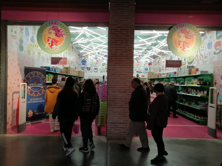 Super Friki Market, en el centro comercial X Madrid, en Alcorcón (Madrid).