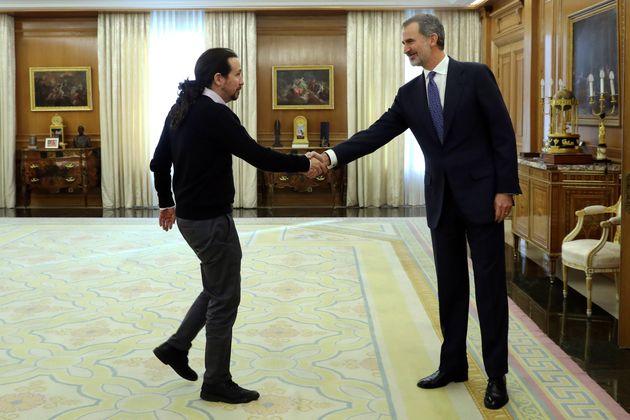 Felipe VI y Pablo